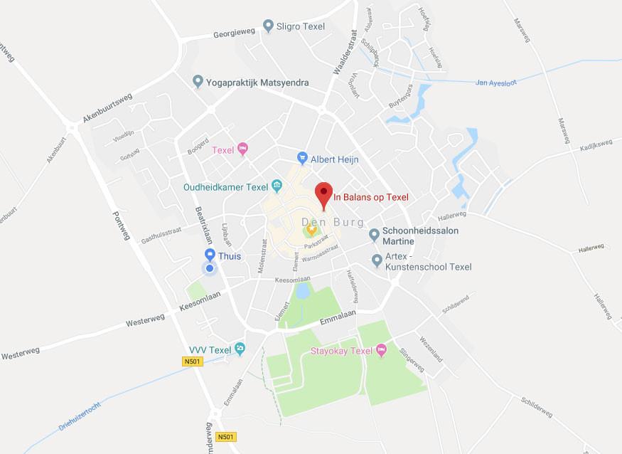 Locatie In Balans op Texel