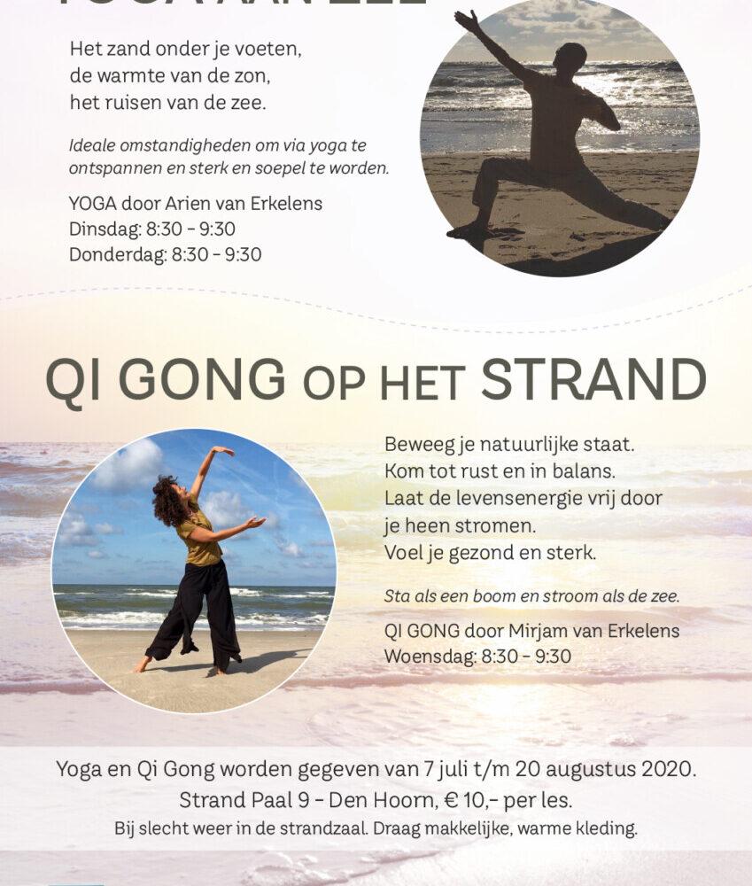 Yoga aan Zee  Qi Gong op het Strand